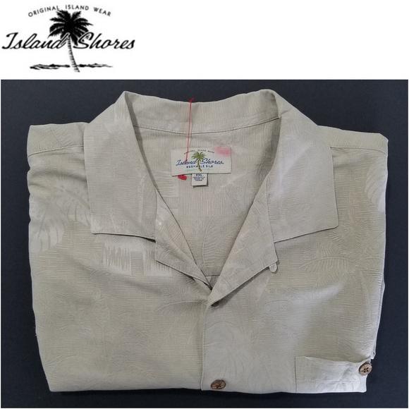 f016e253 Island Shores Shirts | Mens Casual Shirt 100 Silk Sz Xxl | Poshmark